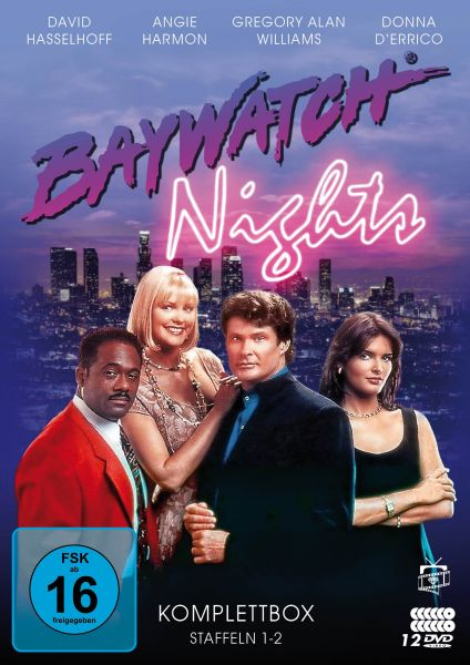 Baywatch Nights - Die Komplettbox: Staffeln 1-2 (12 DVDs)